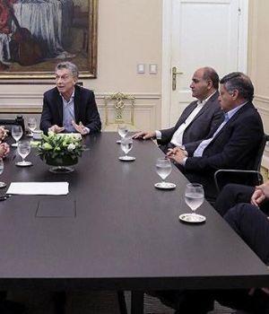 Macri se reunió con gobernadores peronistas