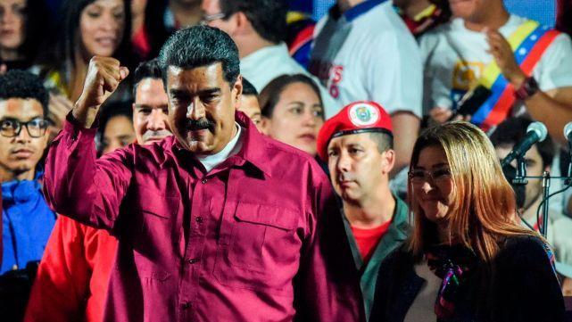 Maduro fue reelecto como presidente de Venezuela