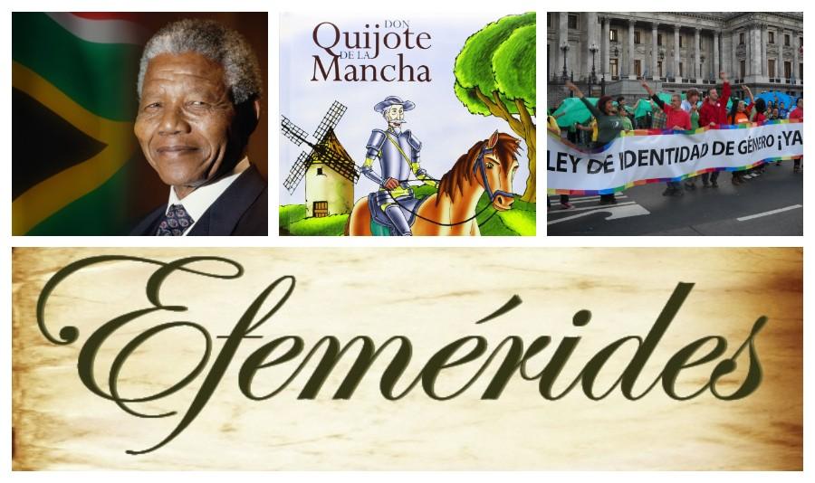 EFEMERIDES VIERNES 20 DE MAYO