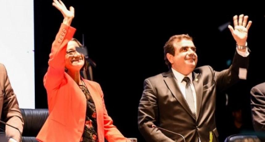 La Gobernadora pidió a los legisladores Reforma Constitucional.