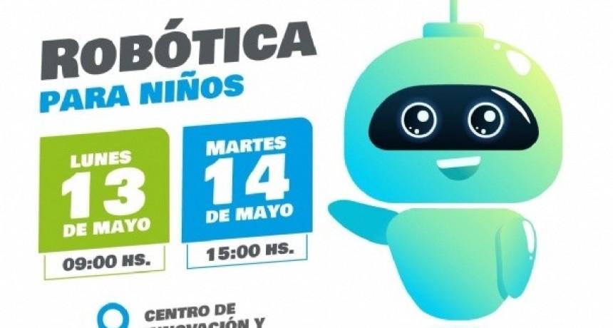 Taller de Robótica para niños en el Centro de Innovación