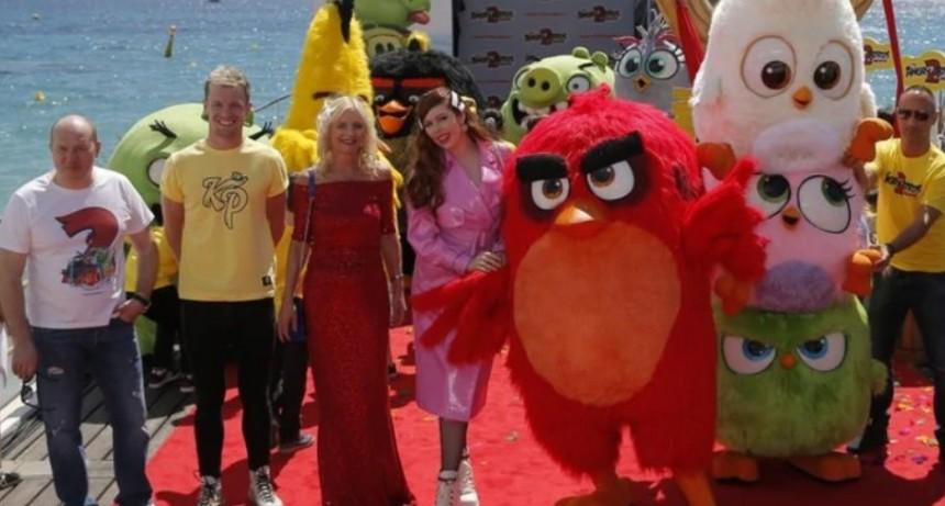Angry Birds en el Festival de Cine de Cannes para presentar secuela de la película