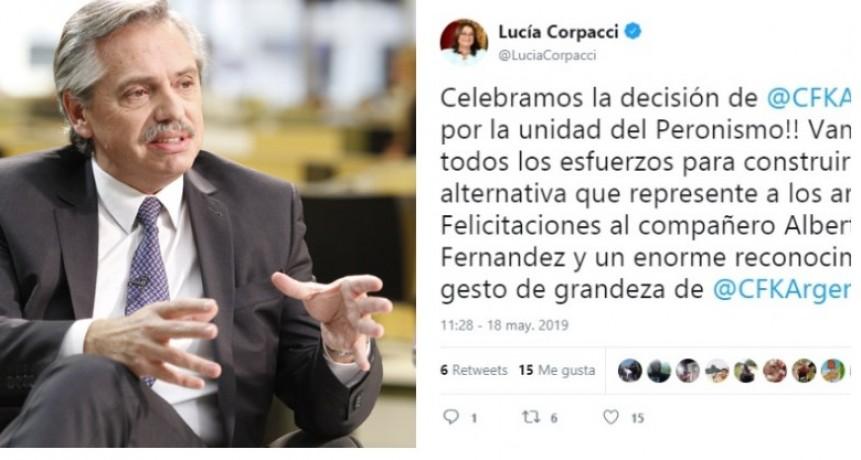 Alberto Fernández le respondió a Lucía Corpacci