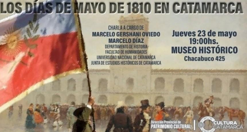 Charla sobre Mayo de 1810 en Catamarca