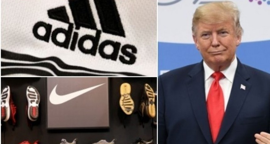 Guerra comercial de Estados Unidos y China: Adidas, Nike y