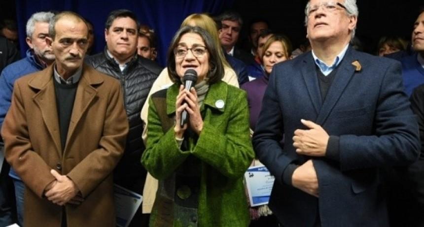 Corpacci no dio señales de candidatura, defendió a Cristina y pidió por la vuelta de un gobierno nacional y popular
