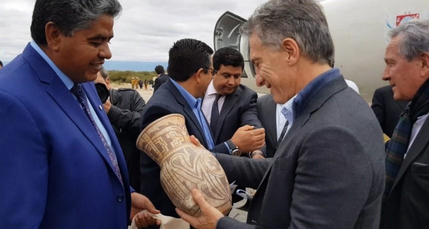 Macri sobre la Inauguración ruta nº 46: Es conectar a Catamarca con el país