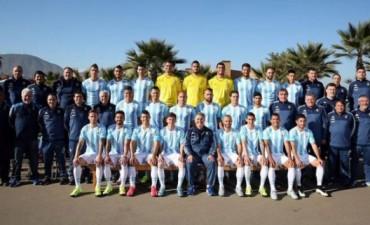Foto oficial de la Selección Nacional, Antidóping sorpresa y lesión de Gago