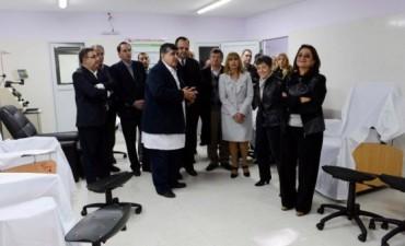Lucía dejó inaugurado el Centro Regional de Hemoterapia