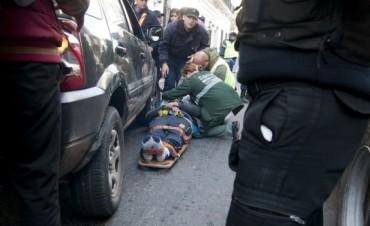 Accidente en República y Sarmiento