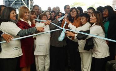 Lucía inauguró el nuevo Hospital de Andalgalá
