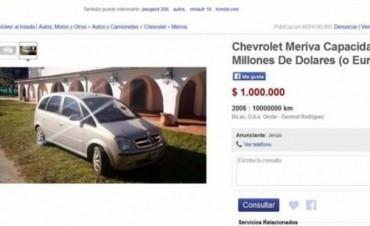 Jesús vende en Internet la camioneta de José López con
