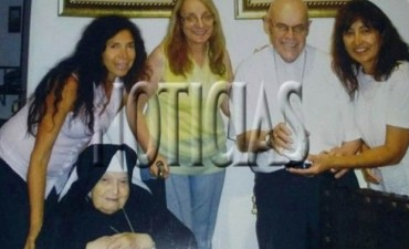 La foto que prueba el vínculo de Alicia con el Monasterio K
