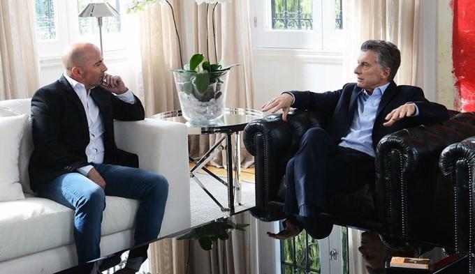 Macri almorzó con Sampaoli, Tapia y Angelici en Olivos