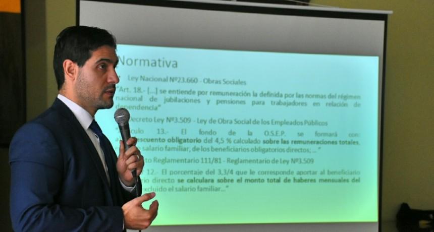 La Provincia explicó a los municipios los nuevos mecanismos para rendir cuentas de los fondos a Nación
