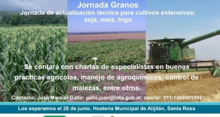 Jornada de actualización técnica para cultivos extensivos: soja, maíz, trigo