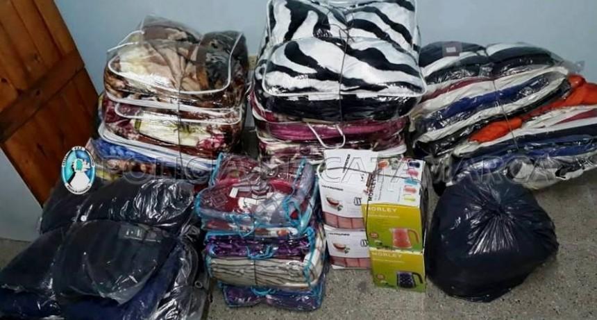 El Portezuelo: Incautan mercadería ilegal y secuestran vehículos en control policial