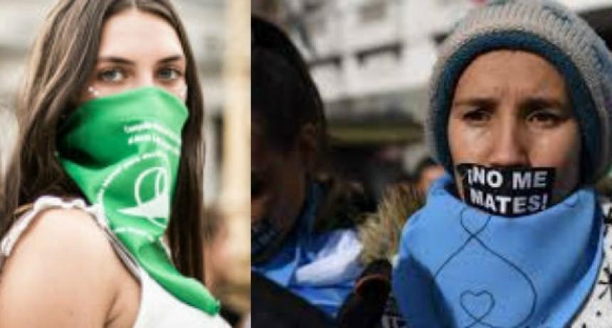 Aborto legal: Hoy pañuelazo de los PRO-VIDA