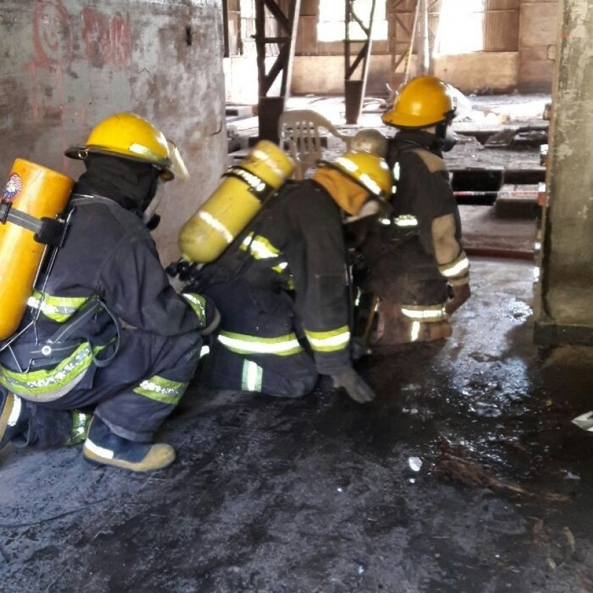 Belén convoco a bomberos de toda la provincia para capacitarlos