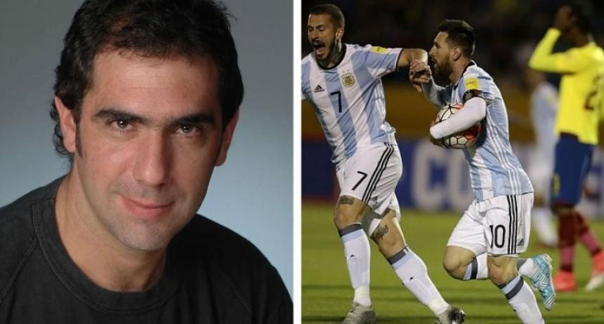 Video: relator chileno festejaba la eliminación de Argentina hasta que llegó el gol de Rojo