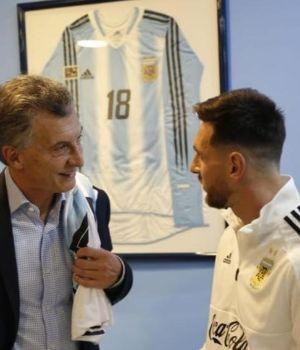 Macri bancó a la Selección y pidió