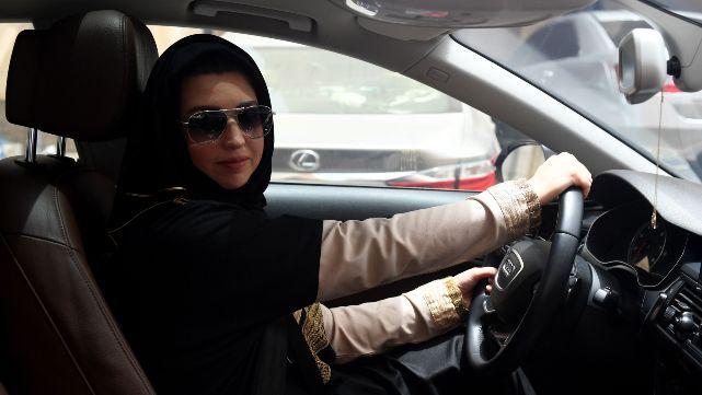 Un día histórico para las mujeres saudíes