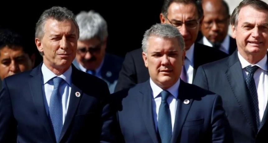 Mauricio Macri se reunirá con Jair Bolsonaro e Iván Duque para tratar la crisis en Venezuela
