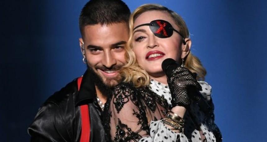 Maluma mostró abdominales y le respondió hasta Madonna