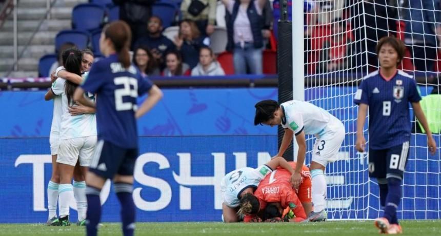 ¡Histórico! Argentina consiguió su primer punto en un Mundial femenino