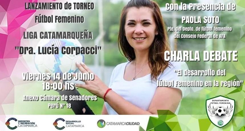 Arranca el primer torneo de fútbol femenino de la Liga Catamarqueña