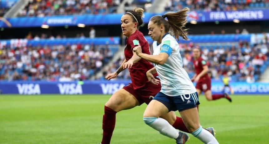 Argentina peleó hasta el final, pero cayó ante Inglaterra en el Mundial Femenino