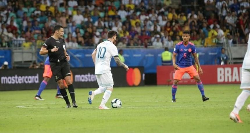 Argentina cayó en su primer partido de la Copa América