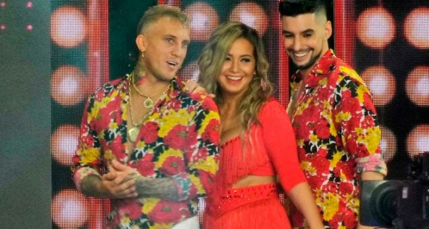 Karina La Princesita y El Polaco incendiaron la pista con la Salsa de Tres