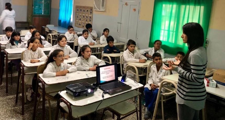 Zoonosis trabaja en las escuelas con talleres