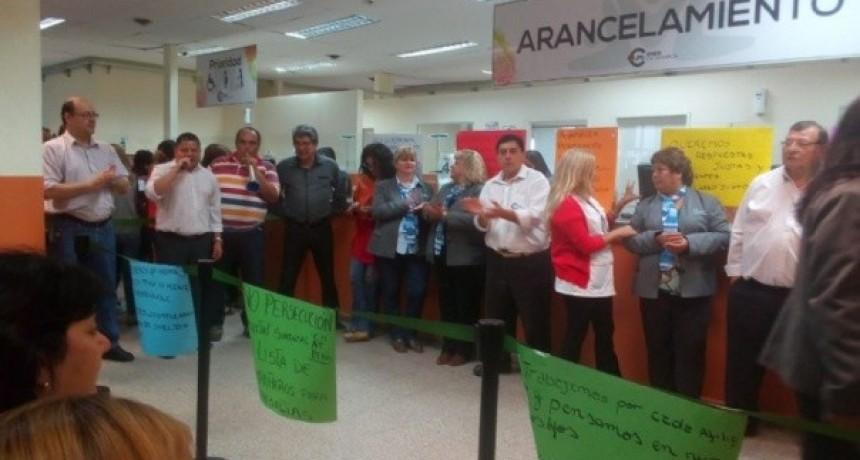 Se profundiza el conflicto salarial en la OSEP