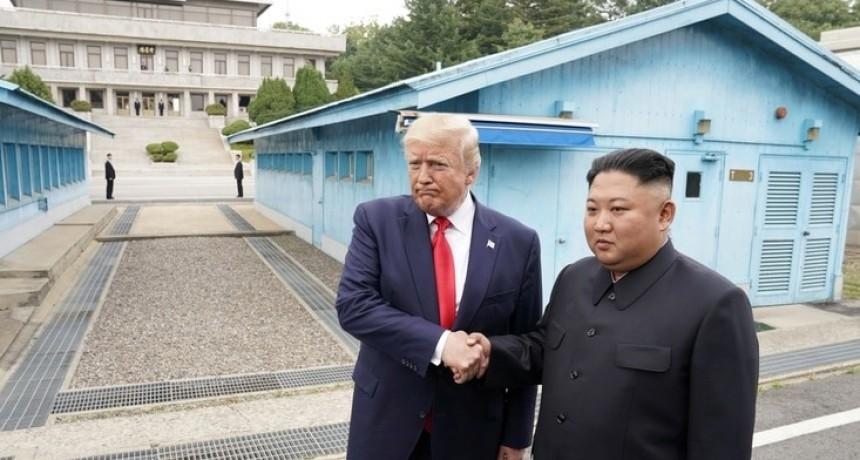 Encuentro histórico: Donald Trump y Kim Jong-un se reunieron en la Zona Desmilitarizada de Corea