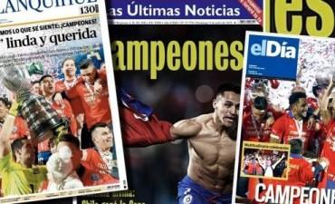 Euforia de la prensa chilena por la Copa América