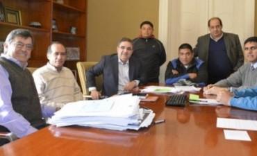Jalil se reunió con representantes del SOEM