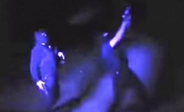 Policías hacen Coreo con uniforme y pistolas reglamentarias