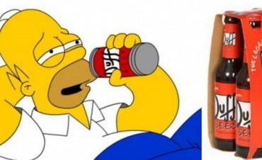 Chile el primero en vender la cerveza de Los Simpson