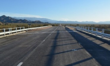 Quedó habilitado el paso por el nuevo puente sobre río Totora
