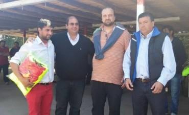 Brumec entregó indumentaria en Capayán