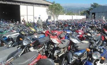 Subastaran los vehículos del corralón municipal