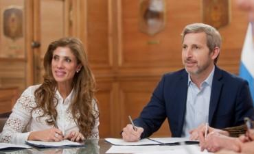 Nación anunció obras por más de 1600 millones de pesos en Chubut, Santiago del Estero, Santa Fe y San Juan