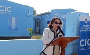 Inauguran  el Centro Integrador Comunitario de Colonia del Valle (Capayán)