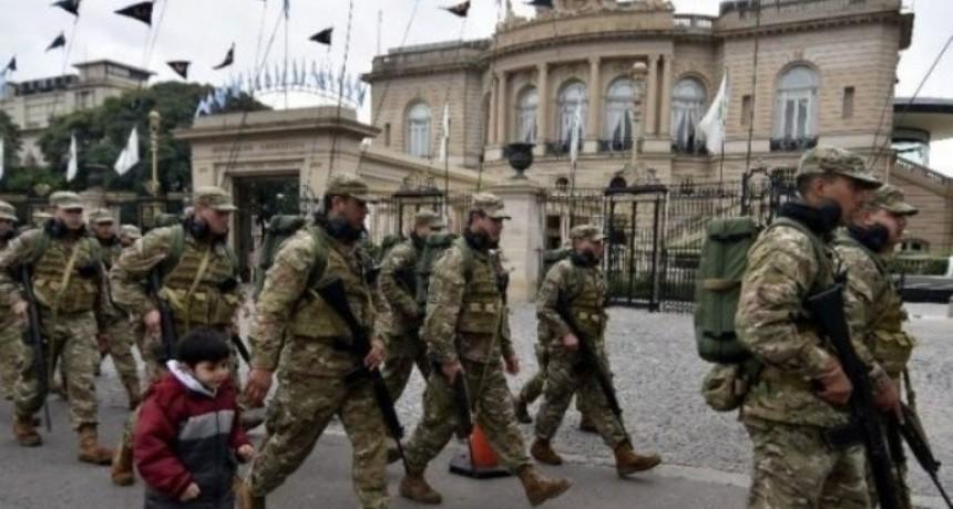 Una tropa de Estados Unidos llegó para capacitar a policías argentinos