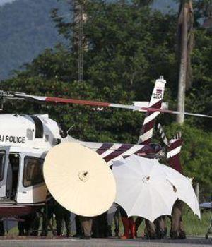 Rescataron al octavo nene atrapado en la cueva de Tailandia