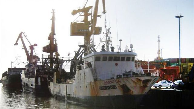 Se hundió pesquero español en Comodoro Rivadavia: un muerto