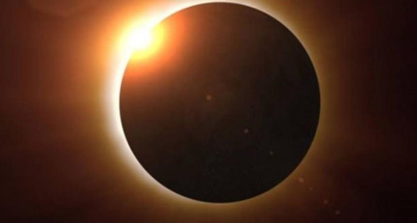 Así estará el cielo a la hora del eclipse