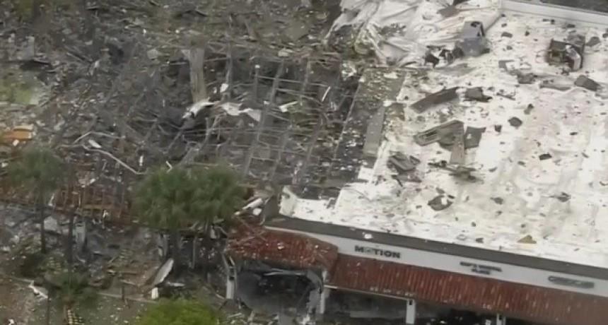 Explotó un shopping en Estados Unidos: hay varias personas heridas